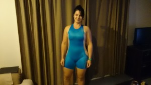 My first triathlon suit
