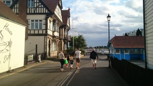 The family at Brightlingsea, England