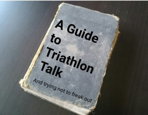 Triathlon Acronym Book