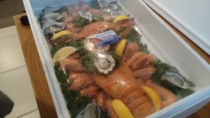 the seafood tray